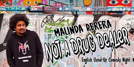 """English Comedy Night """"Not A Drug Dealer"""" Tickets"""
