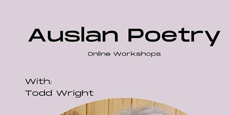 Auslan Poetry Workshop tickets