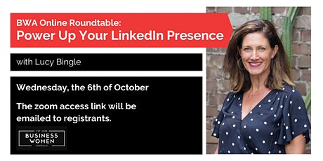 BWA Online Roundtable: Power Up Your LinkedIn Presence tickets