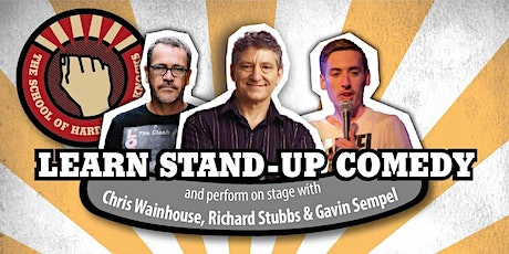 Learn stand-up comedy in Melbourne in November with Richard Stubbs tickets