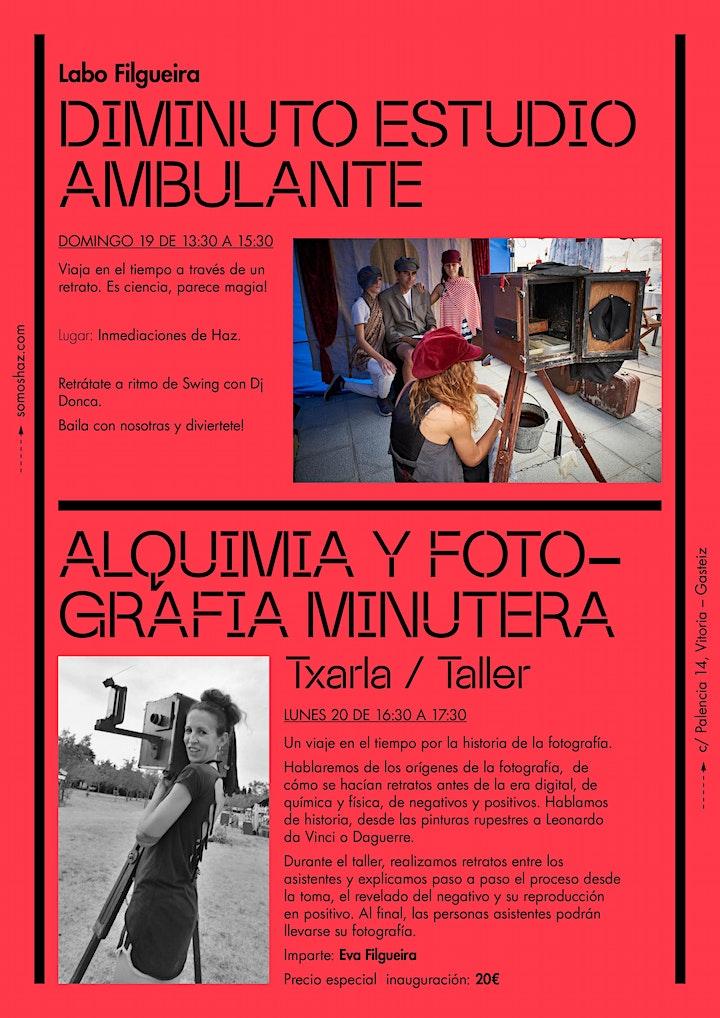 Imagen de 'Alquimia y fotografía minutera'. Txarla/Taller
