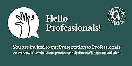 Presentation to Professionals tickets