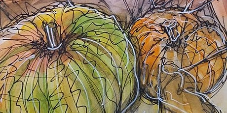 Autumn Art and Wellbeing session mindful art journaling tickets