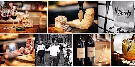 INVITE ONLY! Italian Food & Wine + Champagne + Dancing biljetter