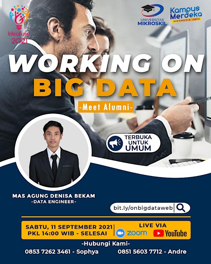 Meet Alumni : Working on Big Data image