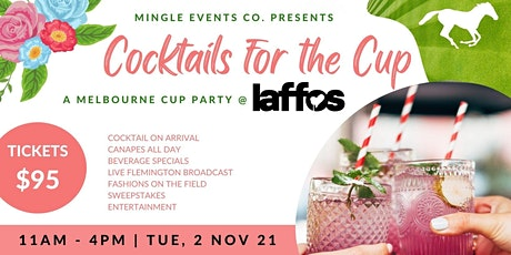 Cocktails for the Cup tickets