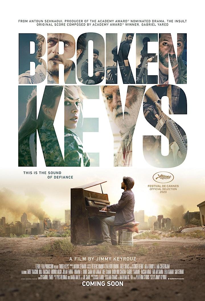 Festival du Film Libanais au Canada - Broken Keys  - Montreal image