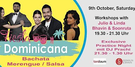 Fiesta Dominicana - Workshops & Practice Night - October Edition Tickets