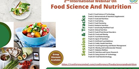 Food science and Nutrition Webinar 2021 tickets
