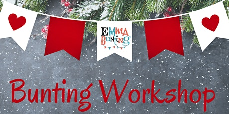 Christmas Bunting Workshop tickets