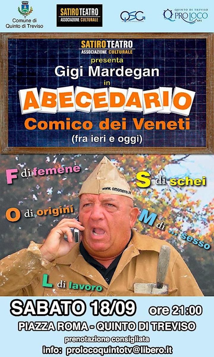 """Immagine Teatro Sotto le Stelle: """"ABECEDARIO"""" Comico dei Veneti"""