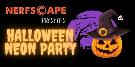 Nerfscape presents Halloween Glow in Dark Party  (SUN 31 OCT - CIVIC HALL) tickets