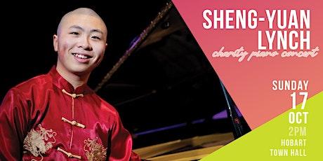 Charity Piano Concert by Sheng-Yuan Lynch tickets