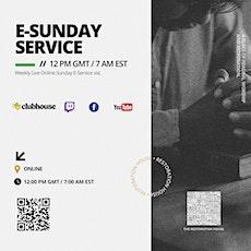 The Restoration House |Online Church - Sunday E-Service tickets