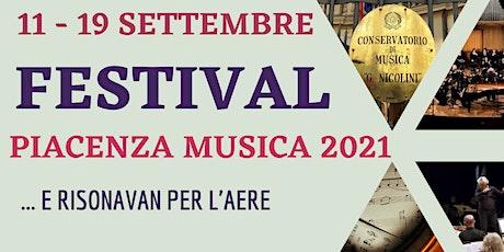 Festival Piacenza Musica 2021 biglietti