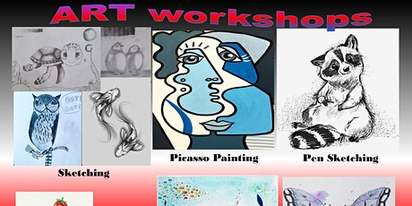 Online Art workshops for Children and Teenagers tickets