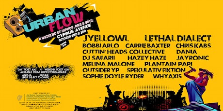 Urban Flow  - a weekend of HipHop, RnB & Soul tickets
