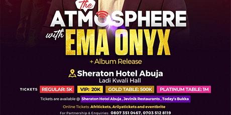 The Atmosphere with Ema Onyx tickets