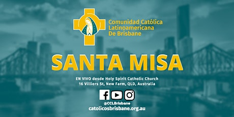 Misa Dominical (19 Septiembre  2021) tickets