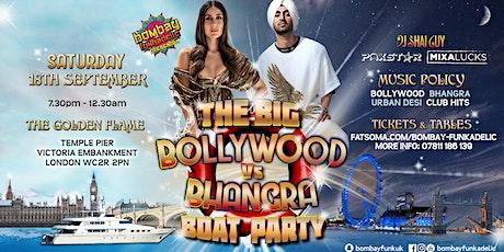The Bollywood v Bhangra Boat Party tickets