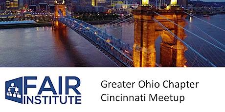 FAIR Institute - Greater Ohio Chapter Cincinnati Meetup tickets