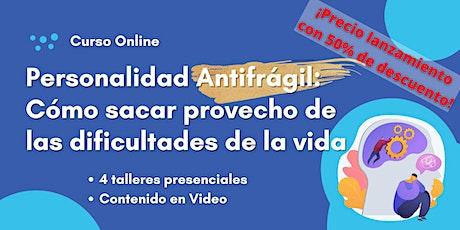 Personalidad Antifragil: como beneficiarse de las dificultades boletos