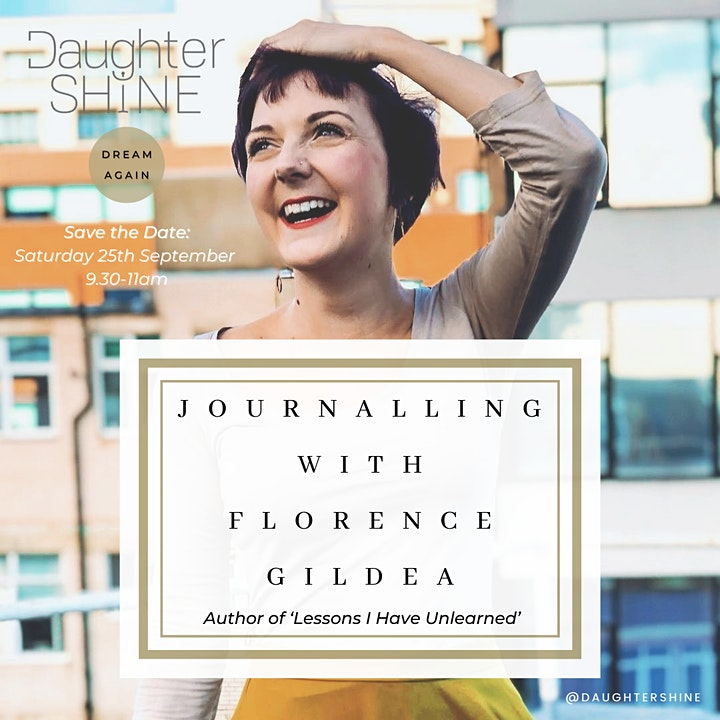 Dream Again: Journalling with Florence Gildea image