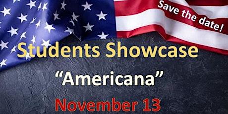"""Students Showcase """"Americana"""" November, 2021 tickets"""