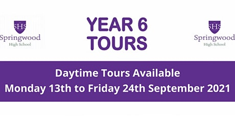 Springwood High School Open Day Tour tickets