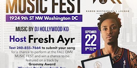 DMV Fall Music Fest tickets