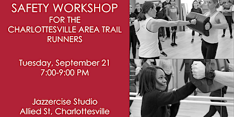 Self-Defense & Safety Workshop for the Charlottesville Area Trail Runners tickets