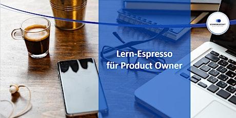 Info-Session / Was ist der Lern-Espresso für Product Owner? Tickets