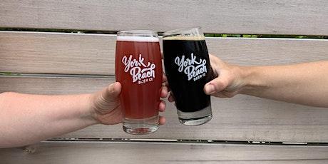 York Beach Beer Company Yoga tickets
