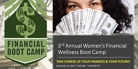 3rd Annual Celebrate You  Women's Financial Wellness Boot Camp (VIRTUAL) tickets