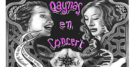 Qaynas en Concert/ Natacha Eloy  et Marie Hamon en Dessin-Live! billets
