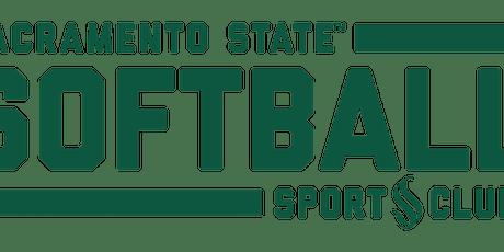 Sacramento State Softball Club  Youth Softball Skills Clinic tickets