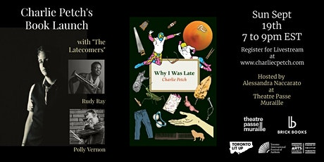 Charlie Petch's Book Launch tickets