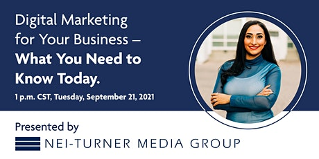 Digital Marketing for Your Business – What You Need to Know Today tickets