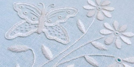 Hand Embroidery Workshop with Kate Barlow - 1930's Whitework tickets