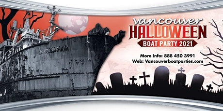 Vancouver Halloween Boat Party 2021 | Largest Halloween Party Vancouver tickets
