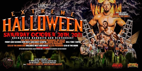 Legacy Pro Wrestling Presents: Extreme Halloween tickets