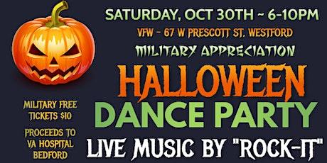 Halloween Dance - Military Appreciation tickets