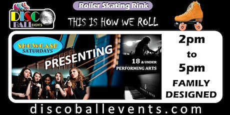 SHOWCASE SATURDAY - FAMILY DESIGNED - 2pm Roller Skating tickets