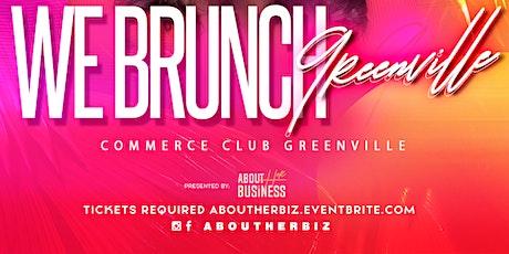 WE Brunch Greenville tickets
