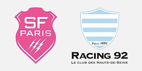 Direct..Live@!!..Racing 92 - Stade Français e.n direct Live tv billets