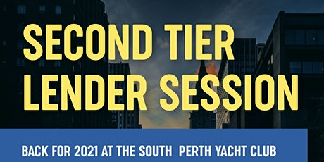 Second Tier Lender Session - Afternoon tickets