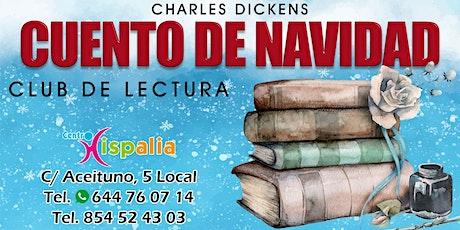 """Club de lectura """"cuentos de navidad"""" de Charles Dickens entradas"""