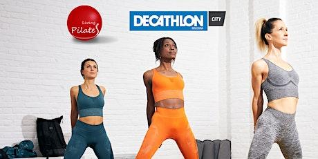 Lezioni di Pilates con Decathlon City biglietti