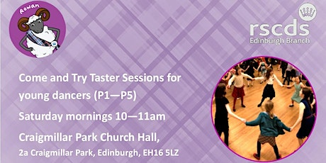 Come and Try Taster sessions for young dancers on Saturday mornings tickets