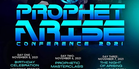 Prophetic Masterclass tickets